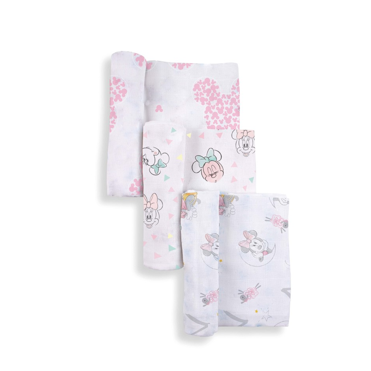 Pack 3 gasitas Minnie Mouse Disney baby